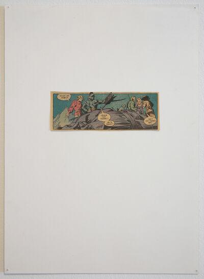 Matt Mullican, 'Untitled (Dead Comic Book Characters)', 1992