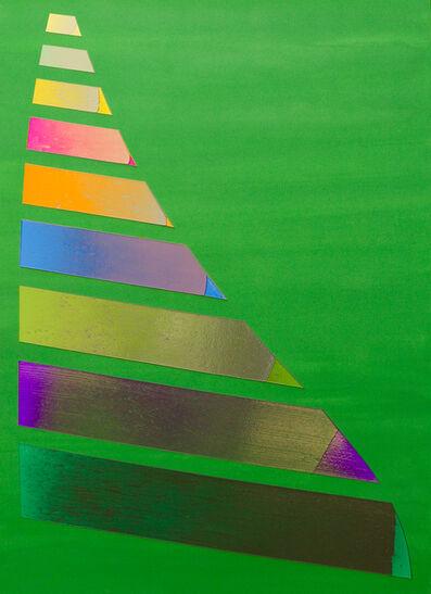Jonathan Forrest, 'Green Rudder', 2015