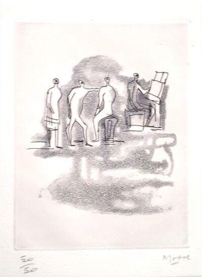 Henry Moore, 'Concert', 1967