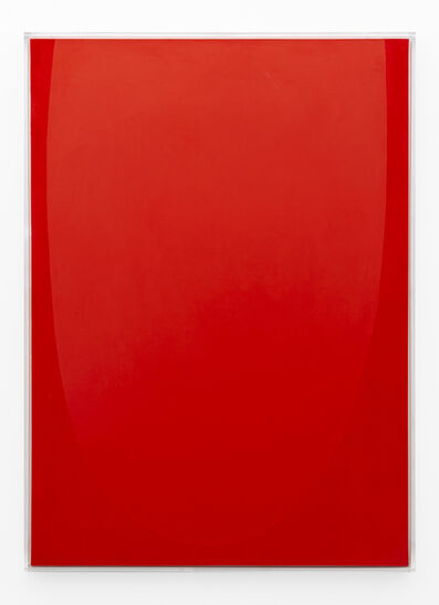 Pierre Vermeulen, 'Vermillion monochrome nr. 3', 2019
