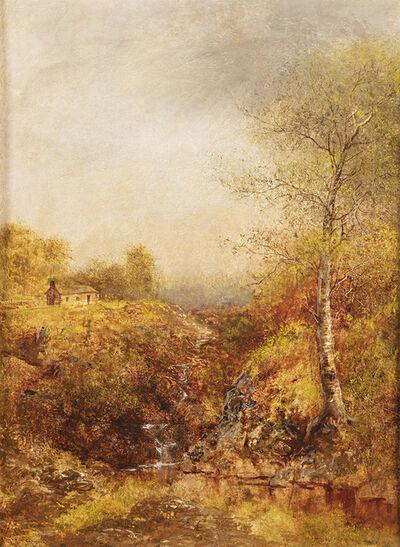 Ralph Albert Blakelock, 'Cabin in the Wilderness', Date Unknown