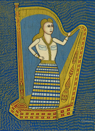 Morris Hirshfield, 'Harp Girl II', 1945
