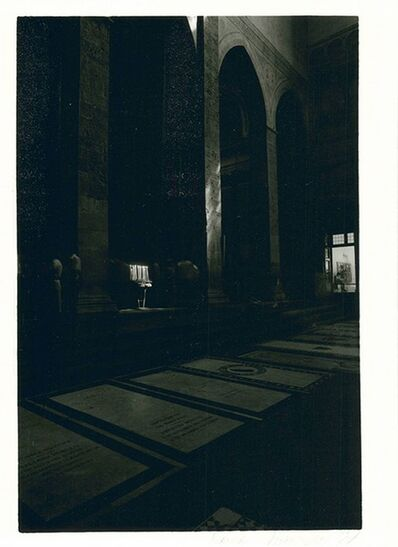Daniel Poensgen, 'In Memory of Santa Croce', 1986-1987