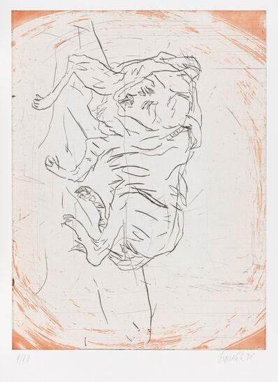"Georg Baselitz, 'Goliath, from ""Schlafende Hunde""', 1998-1999"