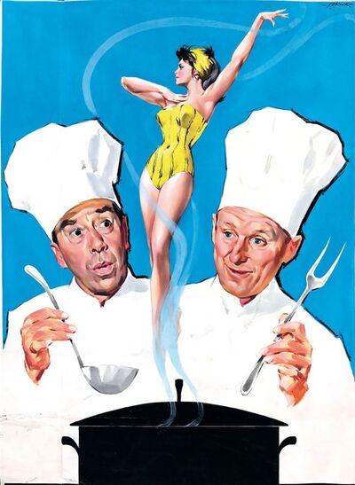 Giorgio Olivetti, 'LA CUCINA AL BURRO – LA CUSINE AU BEURRE', 1964