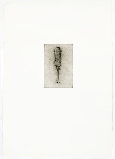 Jim Dine, 'Weed-puller (Drypoint)', 1972