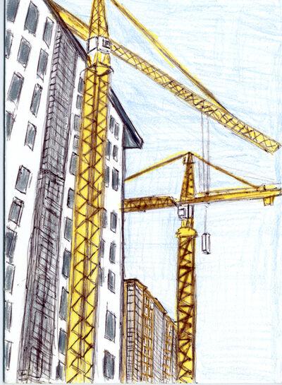 Lance Rivers, 'Crane Landscape', 2011
