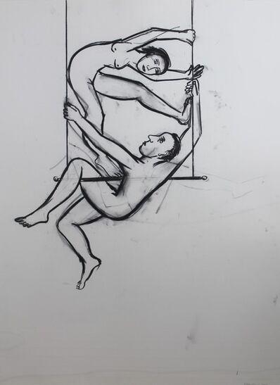 Eileen Cooper, 'Trapeze Couple'