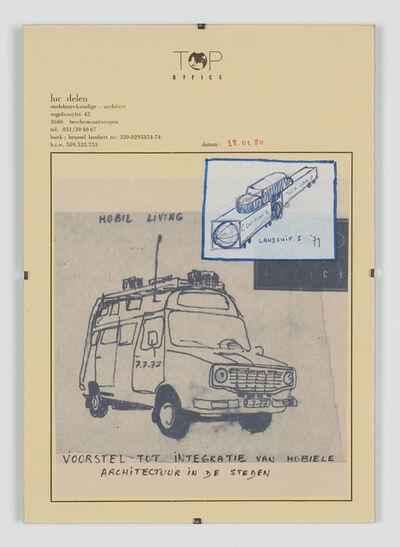 Luc Deleu & T.O.P. office, 'Mobile Living', 1980