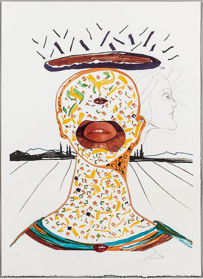 Salvador Dalí, 'Cyclopean Make-Up (Imagination & Objects of the Future Portfolio)', 1975 -1976