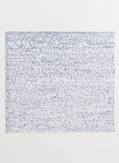 Sarah Irvin, 'X Stamp, No. 8', 2019