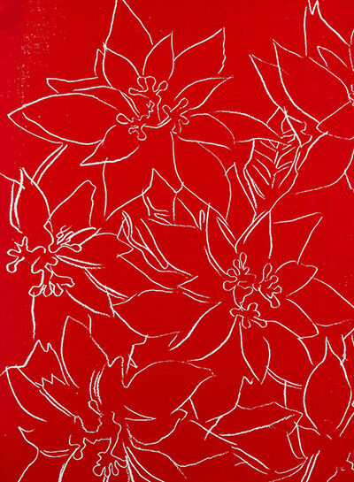 Andy Warhol, 'Poinsettias', 1982