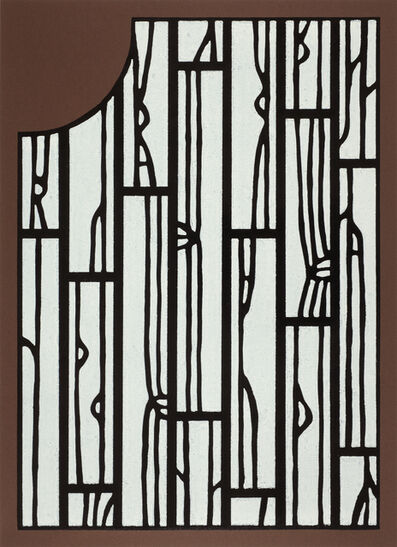 Richard Woods, 'Offcut No 2 (inside the front door)', 2013