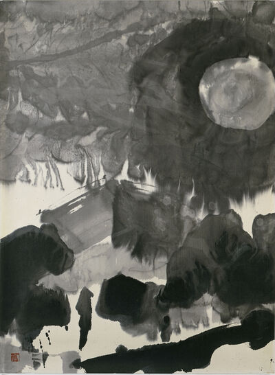 Gao Xingjian 高行健, 'At Night', 1986