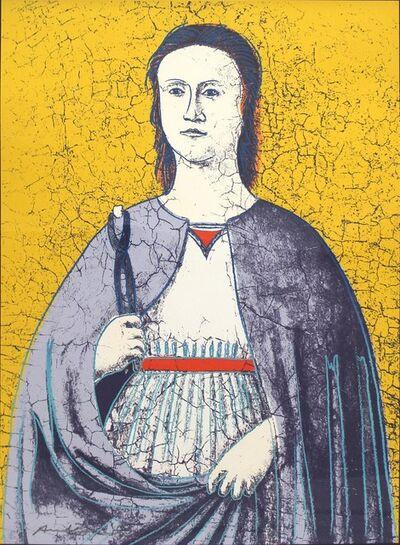 Andy Warhol, 'Saint Apollonia (FS II.333)', 1984