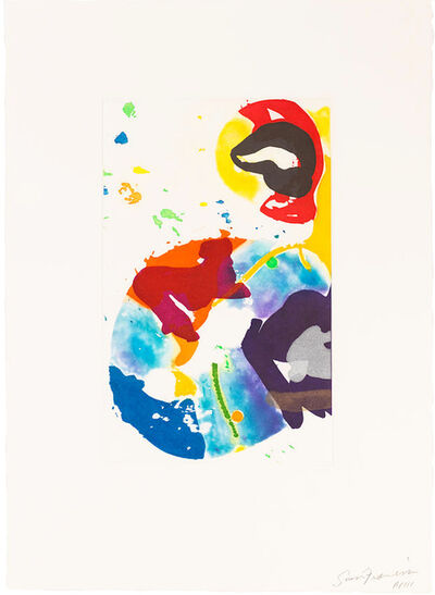 Sam Francis, 'Untitled (SFE-091', 1993