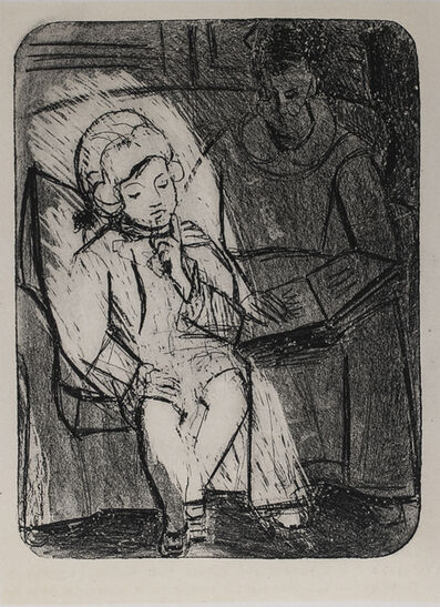 Pablo Picasso, 'La Lecture (Reading), 1949 Limited edition Lithograph by Pablo Picasso', 1949