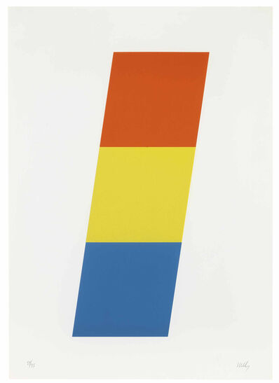 Ellsworth Kelly, 'Red-Orange Yellow Blue', 1970