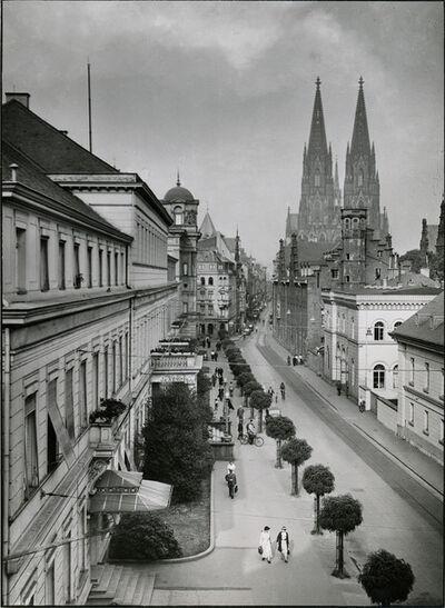 August Sander, 'Zeughaus Street', 1930s
