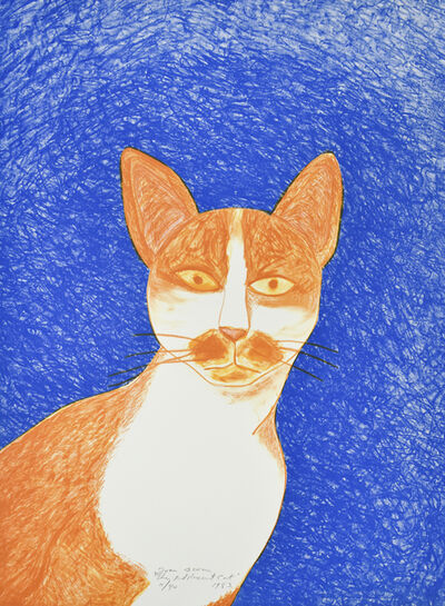Joan Brown, 'Adolescent Cat', 1983