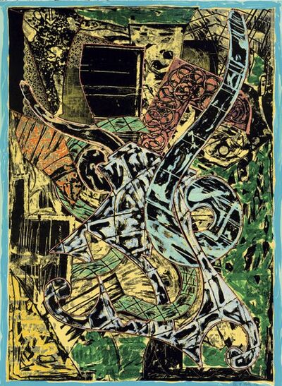 Frank Stella, 'Yellow Journal', 1982