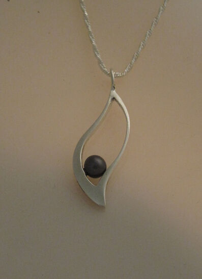 Katherine Marie Spahr, 'Berta Black Pearl Necklace', 2000-2019