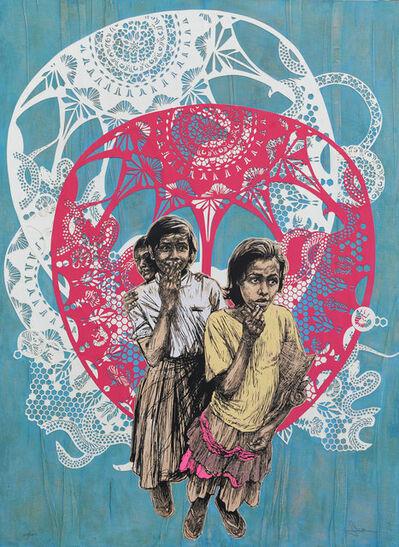 Swoon, 'Sambhavna', 2011
