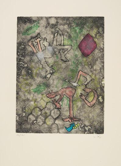 Roberto Matta, 'Centre Noeds - Plate VII', 1974