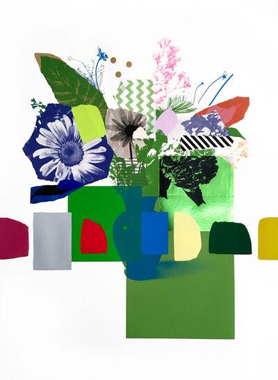Emily Filler, 'Paper Bouquet (green on green)', 2020