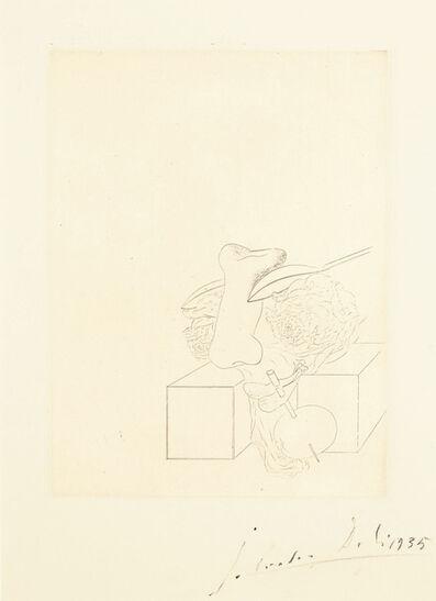 Salvador Dalí, 'Les Chants de Maldoror, one plate', 1934