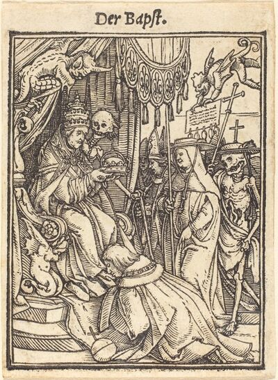 Hans Holbein the Younger, 'The Pope'