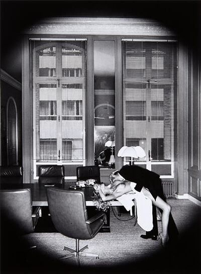 Helmut Newton, 'Office Love', 1976