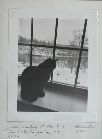 Arabella Colton, 'Jules looking at the snow, The Mill, Saugerties, NY 2020', 2020