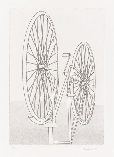 Konrad Klapheck, 'Die Fragwürdigkeit des Ruhmes', 1980