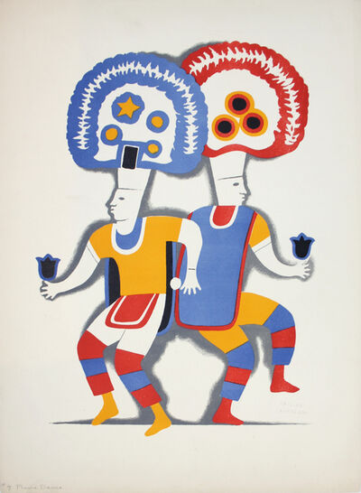 Carlos Merida, 'Plume Dance', 1930-1937