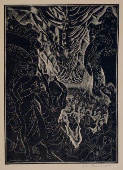 Leon Underwood, 'Masquerade', 1926