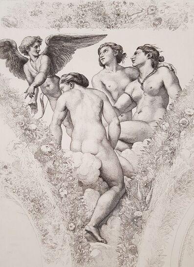 Raphael, 'L'Amour Montrant Psyche Aux Graces', 1883