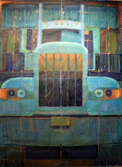 Adrianne Lobel, 'Big Turquoise Truck', 2015