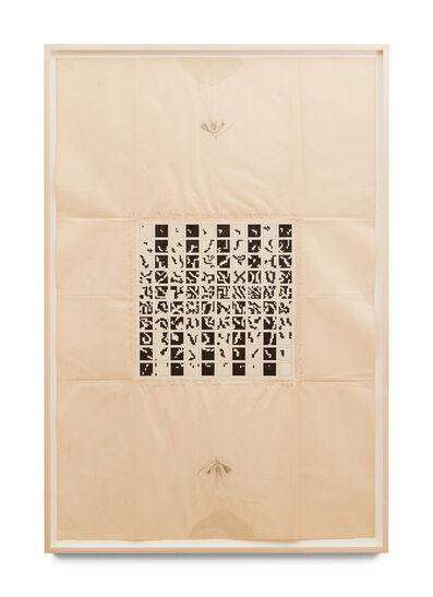 Alighiero Boetti, 'Tra Sé e Sé (Premio Ubu)', 1979