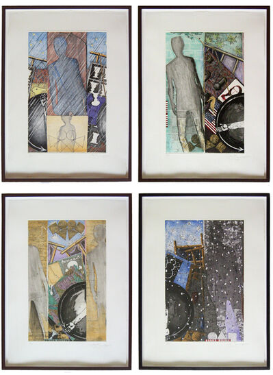 Jasper Johns, 'The Seasons Set (Spring, Summer, Fall, Winter) (ULAE 238-241)', 1987