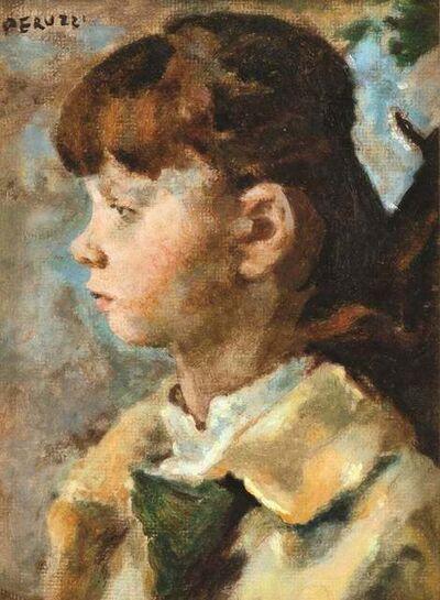 Cesare Peruzzi, 'Portrait of a Girl', 1972