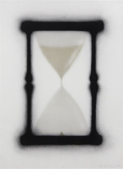 Ed Ruscha, 'Reloj de Arena', 1988