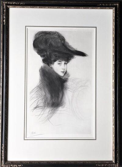 Paul César Helleu, 'La Duchesse de Marlborough, Consuelo Vanderbilt. ', ca. 1901