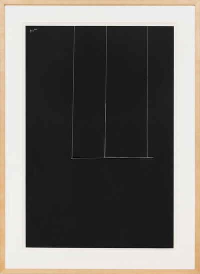 Robert Motherwell, 'London Series I: Untitled (Black)', 1971
