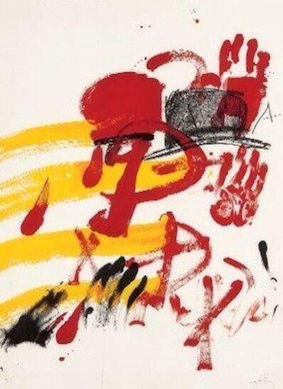 Antoni Tàpies, 'Homenatge a Joan'