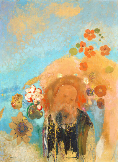 Odilon Redon, 'Evocation of Roussel', ca. 1912