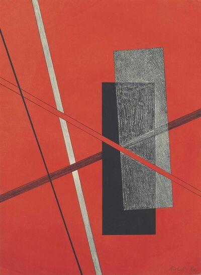 László Moholy-Nagy, 'Konstruktion IV, from Konstruktionen 6. Kestnermappe', 1923