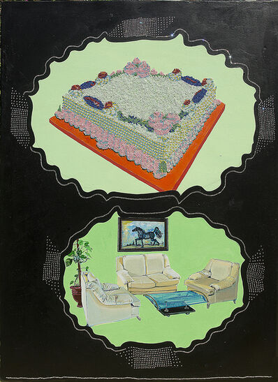 Saba Khan, 'Cake in the Drawing Room with the Bad Painting', 2015