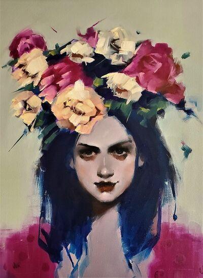 June Valentine Ruppe, 'Flowered Crown', 2021
