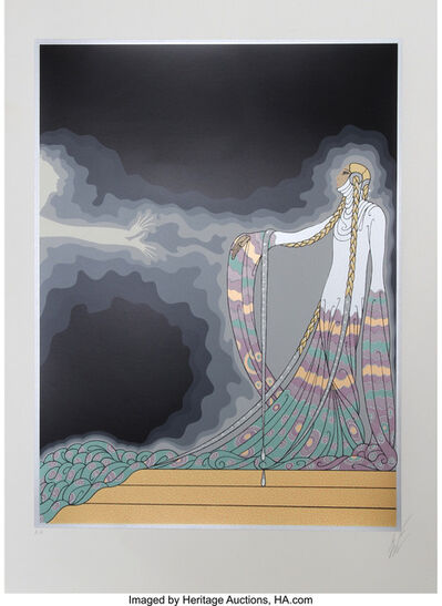 Erté (Romain de Tirtoff), 'Melisande, from the At the Theater Suite', 1983